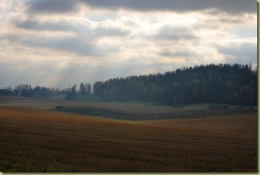 Autumn 2011 - Strange Light over a Farm Oct 16