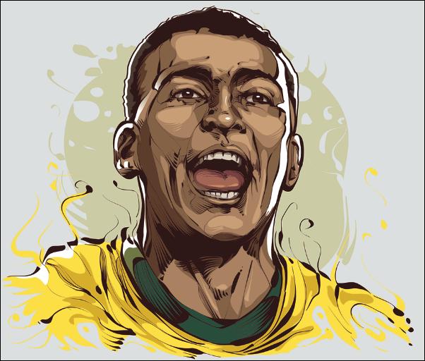 Romario - Joueur de Football