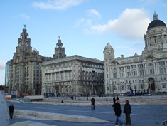 The Buildings of Liverpool Pier Head