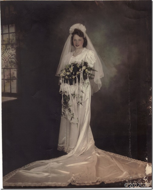 Lois Coleman Wedding Dec1941