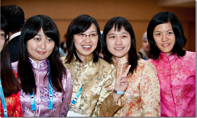 China's Women Olympiad Team 2012