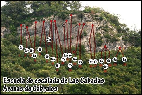 Croquis Las Cabadas (Arenas de Cabrales, Asturias) 2