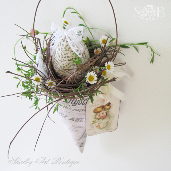 Shabby Art Boutique Vintage Easter 1