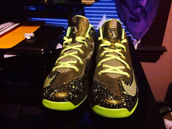 Nike LeBron 11 Low Dunkman Promo Sample Looks a Lot Like GR