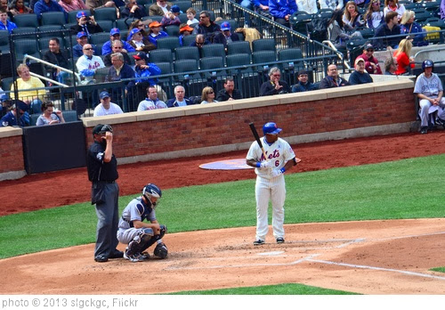 'Marlon Byrd's First At-Bat As a Met' photo (c) 2013, slgckgc - license: http://creativecommons.org/licenses/by/2.0/