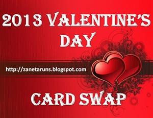 2013 Valentine's Card Swap Logo
