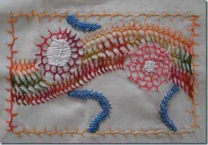 Wk 4 Cretan Stitch