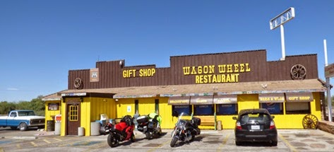 Wagon Wheel Restaurant Route 66 in Needles California