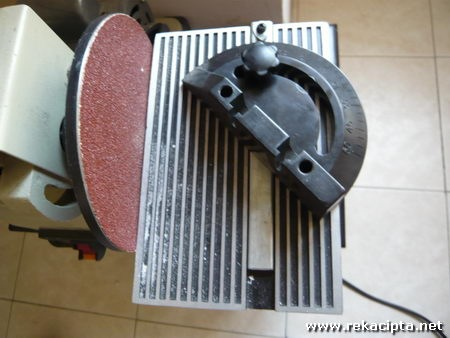 Rekacipta.net - Belt dan Disk Sander Angle Jig
