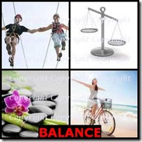 BALANCE- 4 Pics 1 Word Answers 3 Letters