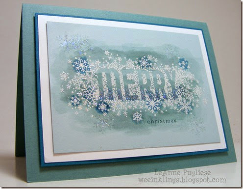 LeAnne Pugliese WeeInklings Merry Monday 126 Seasonally Scattered Stampin Up Christmas