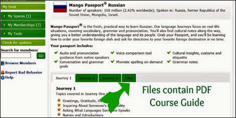 Lower part of Russian Sawywire Screen Shot for Mango Homeschool Edition Review