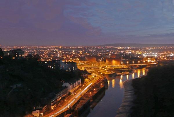 مدينة بريستول في إنجلترا