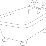coloring pages bathtubs - photo#38