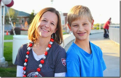 Global Campus student Rebecca Holdquist and son Tyler