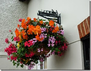 1 hanging basket brackets at Grove Lock