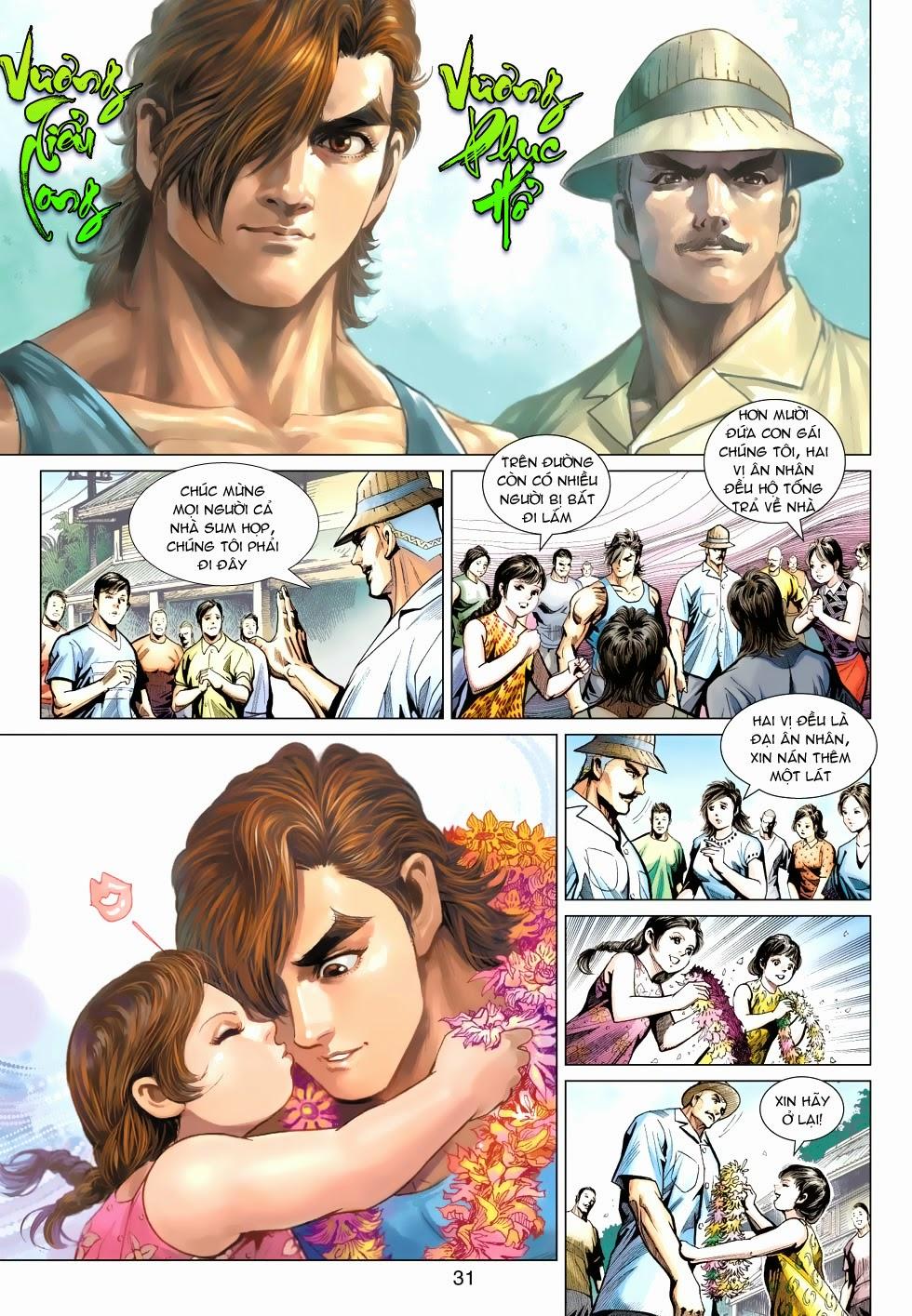 Tân Tác Long Hổ Môn chap 488 - Trang 30
