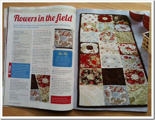Flowers in the Field - Handmade Magazine