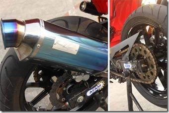Kawasaki Ninja 250R Racing Tune Up Mufler