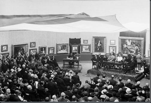 Conferencia inaugural de Malhô o pintor e sua obra