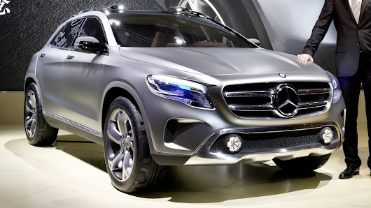 Mercedes-Benz showed the compact crossover GLA