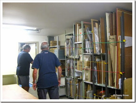 Personal tour of The Archives.