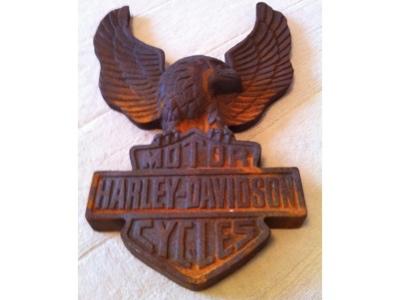 harley davidson schild wappen zeichen abzeichen adler ebay. Black Bedroom Furniture Sets. Home Design Ideas