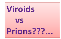 viroids vs Prions
