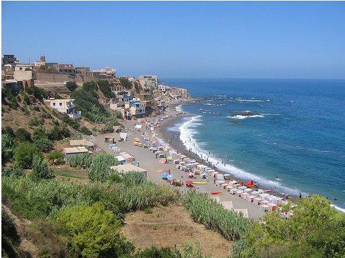 Plages d'Algérie 12607-vue-sur-la-plage-beldj-tipaza