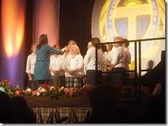 lisa's  choir