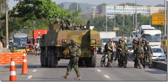 """Garantir a """"lei e a ordem"""", papel das Forças Armadas?"""