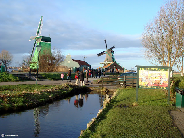 the famous zaanse schans in zaandam in Zaandam, Noord Holland, Netherlands