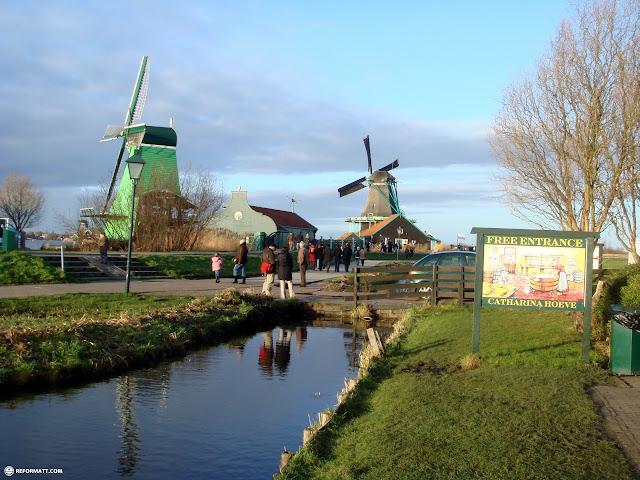 the famous zaanse schans in zaandam in Zaandam, Noord Holland, Netherlands