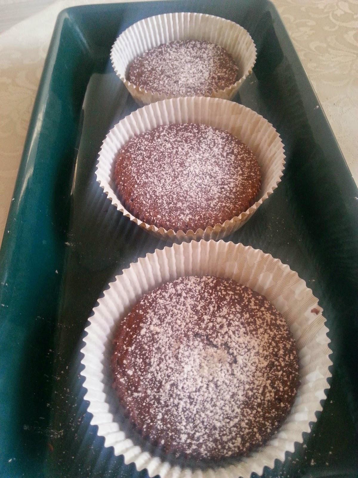 muffins med honung istället för socker