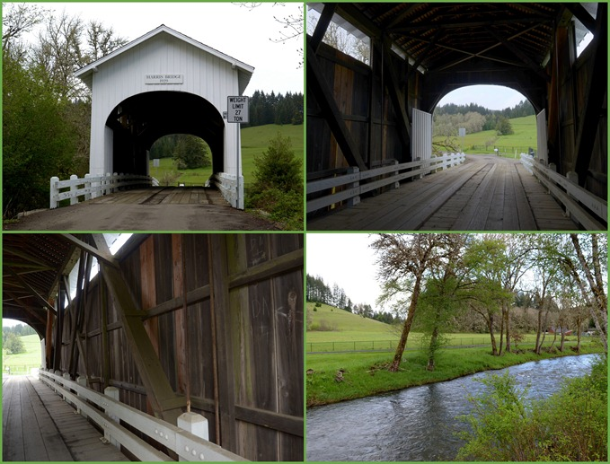 Harris Covered Bridge near Wren
