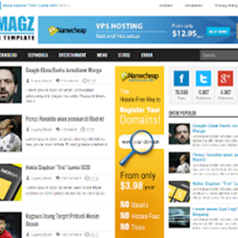 Download Template Fastest Magz v3.5 Gratis