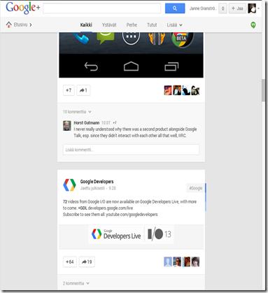 uusi google