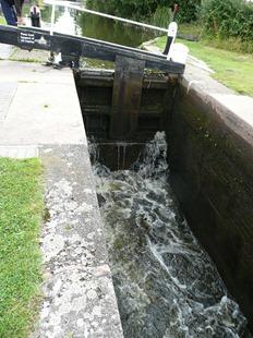 Шлюзовые ворота на Бирмингемском канале