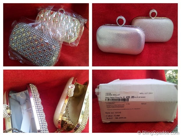 Beautiful trendy clutches