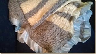 Shaina's baby blanket