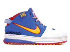 hardwood lebron6 superman 01 First Look at Nike LeBron X Low   Cavs Hardwood Classic?!