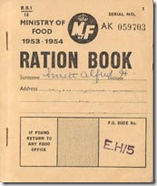Education - WW2 Ration Card