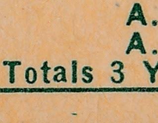1959 Topps 384 Dave Sisler back variation 1