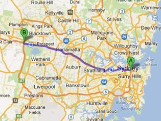 40km to Eastern Creek