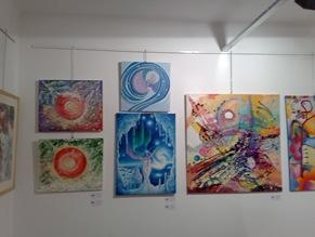 Craiasa zapezilor si alte tablouri expuse la Elite prof art gallery - Expozitia Culori de sarbatori