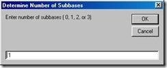 Número de subbases