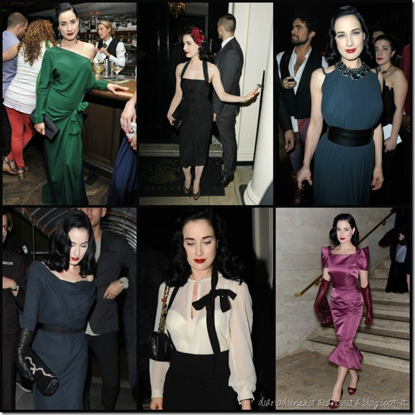 Dita nightlife outfit