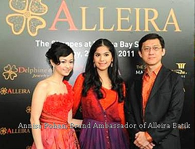 Alleria International, Ms. Delphine Darsono,  Ms. Annisa Pohan and Mr. Paul Goh,