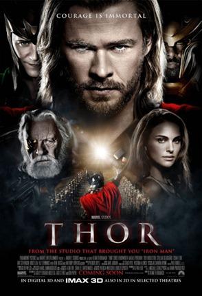 Thor – Dual Áudio – dublado português. Download de Filmes 2011 Dvd-Rip.