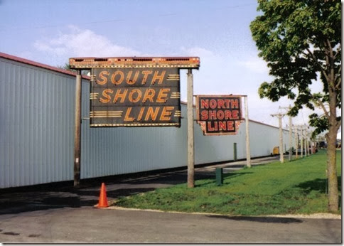 Billboards at the Illinois Railway Museum on May 23, 2004